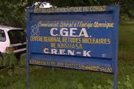 Pancarte d'entrée au CREN à la l'Université de Kisnahsa (Ph. Médias Congo)