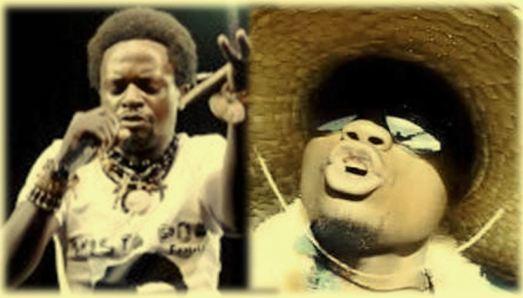 Mista Poa Kasereka et Bigstone Kavusa, artistes musiciens (Ph. @KivuTimes)