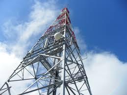 Pylône d'un fournisseur de téléphonie cellulaire (Ph. Tiers)