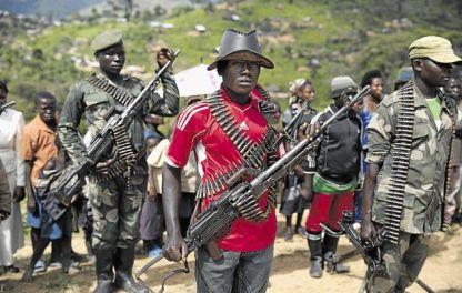 Rebelles dans l'Est de la RDC (Ph. Tiers)