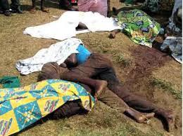 Près de 90 personnes ont été exécutées à l'arme blanche dans la région de Beni. (Ph. Tiers)