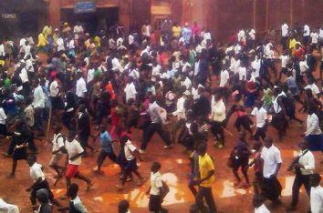 Ras-le-bol des étudiants et élèves de Butembo, suite aux ménaces des présumés ADF (Ph. P. Mapendo Makelele)