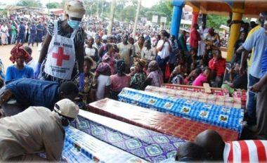 En fin novembre 2014, le nombre des victimes du génocide de Beni frôle 300 personnes exécutées à l'arme blanche.