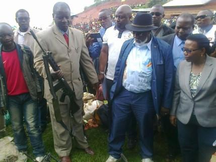 Tshishambo Ruhoya, témoin de la reddition des FDLR au Sud Kivu (Ph. Tiers)