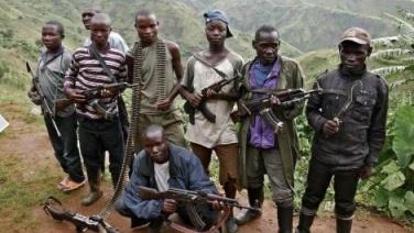 Quelques combattants FDLR au Nord Kivu (Ph.Tiers)