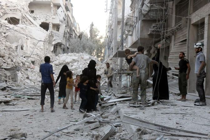 SYRIE: les dirigeants allemand, britannique, français, italien, américain et canadien exhortent à un cessez-le-feu immédiat à Alep