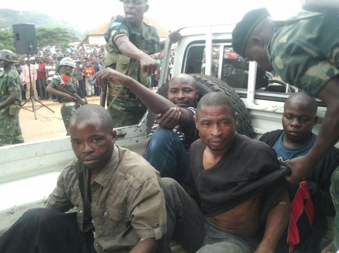 GOMA : 57 présumés bandits aux arrêts sur les 69 criminels identifiés