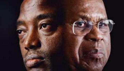 Joseph Kabila vs Etienne Tshisekedi. (Ph. Tiers)