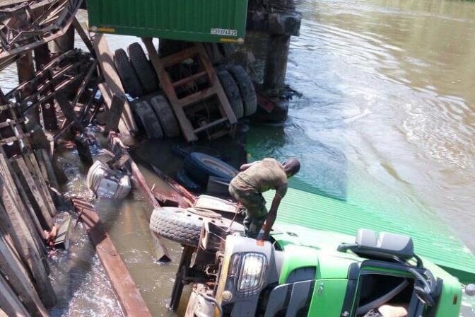 Nord-Kivu : L'effondrement du pont Semliki détériore l'économie dans le Grand-Nord